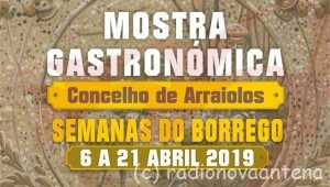 Cartaz Semanas do Borrego 2019 header
